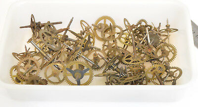 Big Lot Antique & Vintage clock wheels gears Watchmakers watch parts Steampunk