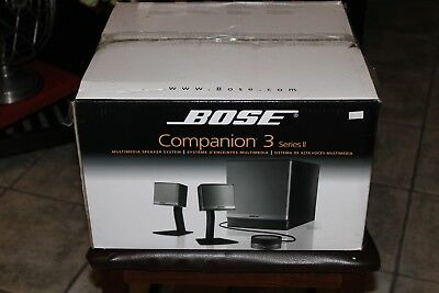 Bose Companion 3 Series II Computer Multimedia Speaker System