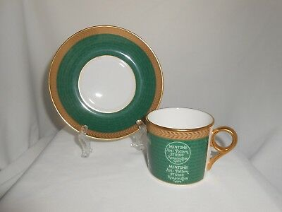 Minton Coffee Cup & Saucer Backstamp Collection 2004 (C)