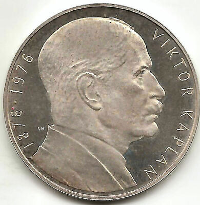 Czechoslovakia 100 Korum 1976 Viktor Kaplan @ PROOF @