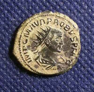 Probus High Grade Quality Ancient Roman Coin Clementia