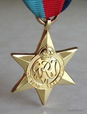 Canada Canadian - British & Commonwealth The 1939–1945 Star Campaign Medal WWII