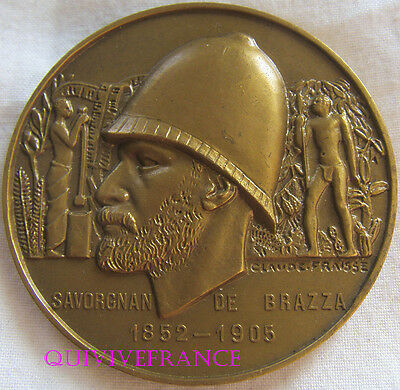 Med5753 - Medaille Paquebot Savorgnan De Brazza 1948 Chargeurs Reunis