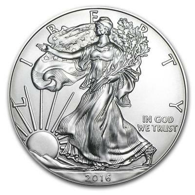 1 Once Argent American Eagle 2016 USA