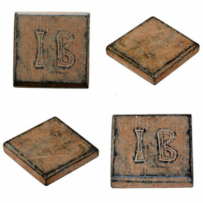 Byzantine Æ Square Weight, c. 7th-8th century for three nomismata-engraved I B
