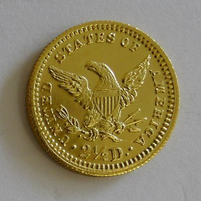 2,5 Dollars Gold USA 1902 Coronet Head Quarter Eagle Goldmünze