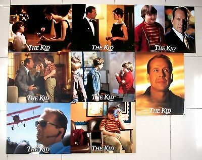 The Kid Bruce Willis set of 8 US Lobby Cards 11 x 14