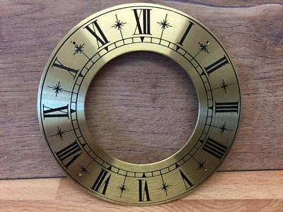 GOOD QUALITY SOLID BRASS CLOCK CHAPTER RING APPROX DIAMETER 107mm NOS