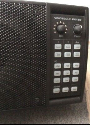 TC-Helicon VoiceSolo FX150 / PA Studio Monitor Lautsprecher Box