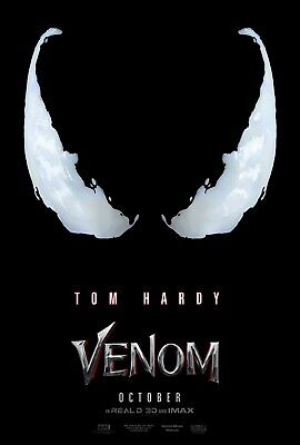 Marvel VENOM 2018 Advance Teaser Original Promo Mini Movie Poster Tom Hardy