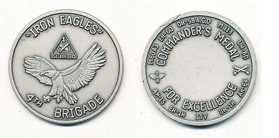 Coin US Army 4th Brigade, 1st Armored Division KATTERBACH, selten!!!