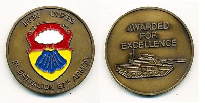 Coin US Army 2nd Battalion, 67th Armor, FRIEDBERG