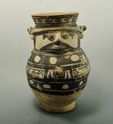 Pre-Columbian Chancy Terracotta Vessel (L810)