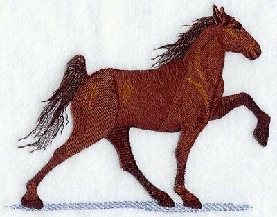 Embroidered Short-Sleeved T-Shirt - Tennessee Walking Horse A9059 Sizes S - XXL