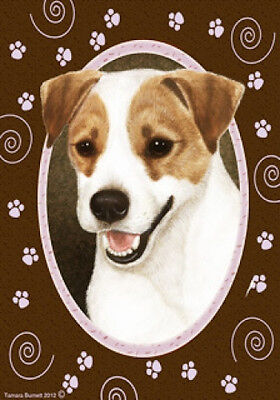 Large Indoor/Outdoor Paws Flag - Jack Russell Terrier 17024