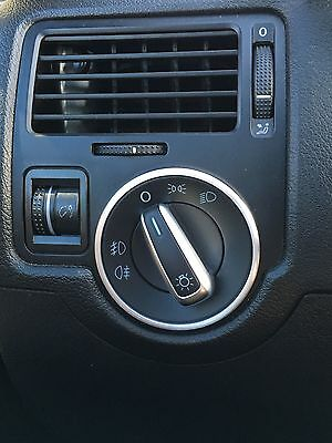 Vw  Volkswagen Caddy Transporter Toureg Golf Passat Head Light Switch Ring