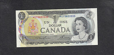 1973 Canada 1 Dollar Replacement Bank Note