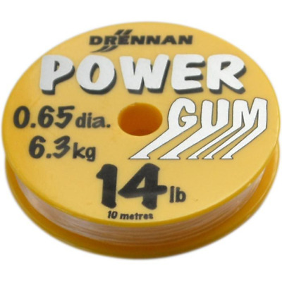 Drennan Power Gum 14lb Clear 10m Spool