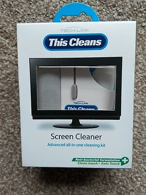 "Techlink TECH511001 511001 ""This Cleans"" - Screen Cleaner Advanced All in One"