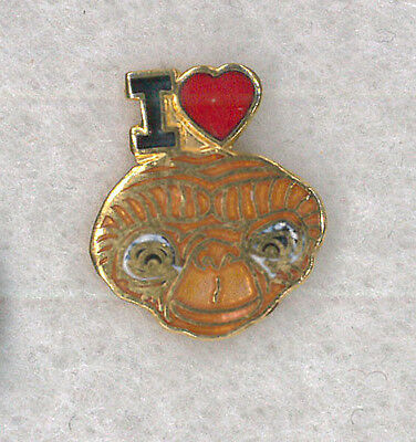 Universal Studios movie pin - I Love E.T. - The Extraterrestrial Sci Fi badge