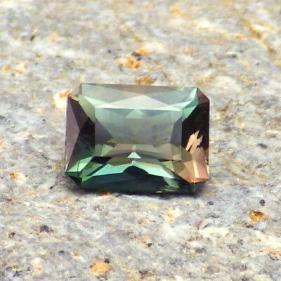 BLUE-TEAL-PINK DICHROIC OREGON SUNSTONE1.50Ct FLAWLESS-EXTREMELY RARE COLOR!