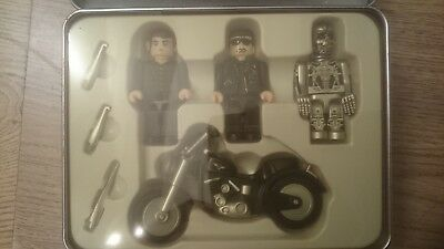 Terminator 2 Judgement Day Cube Figures With Bike