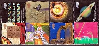 QEII 1999 Scientists Tale & Christians Tale used sets (j978)