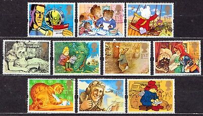 QEII 1994 Greetings stamps Messages used set (j392)