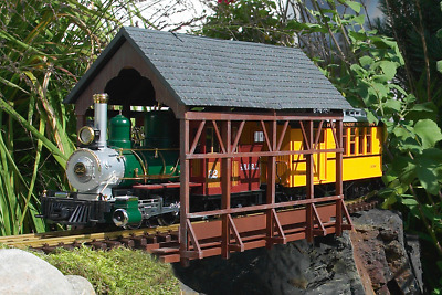 PIKO 62116, G Scale / One Gauge, Covered Bridge Building Kit