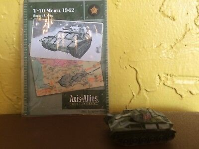 Axis and Allies Set 2 II 7TPdw 5//45 no card