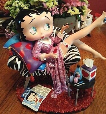 Betty Boop Danbury Mint A Prefect Ten Figurine