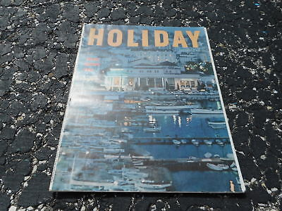 JAN 1964  HOLIDAY vacation magazine - GREAT ADS - EUROPE