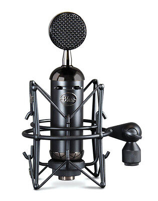 Blue Microphone Spark Blackout SL XLR Condenser Microphone for Recording