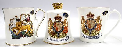 AYNSLEY CHINA Queen And Queen Mother Commemorative Collection - W13