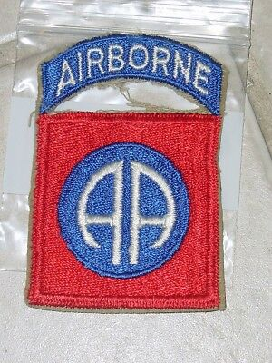 Wwii Us Army 82Nd Airborne Ab All American Para Normandy Uniform Jacket Patch
