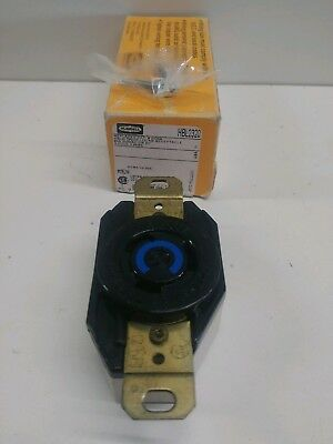 New In Box! Hubbell 20 Amp 250V 2-Pole Twist Lock Receptacle Hbl2320
