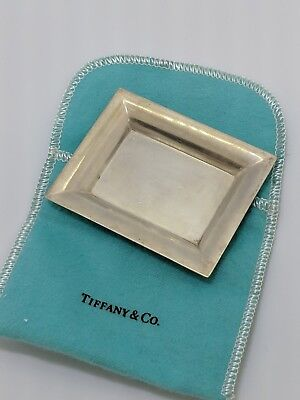 Tiffany & Co. Sterling Silver Mini Tray - Makers 20958