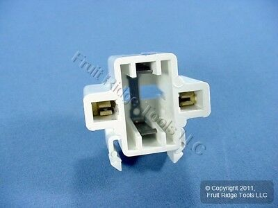 Leviton Compact Fluorescent Lampholder CFL Light Socket Snap-In 26719-100 Bagged