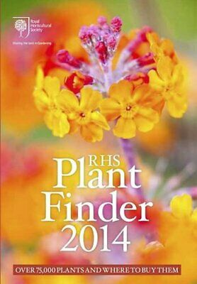 RHS Plant Finder 2014 Book The Cheap Fast Free Post