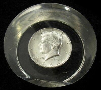 1964 Kennedy Half Dollar Paper Weight