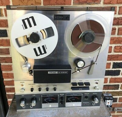 Teac A-6010 Tape Reel-To-Reel Player Recorder & Ar-60 - No Case!