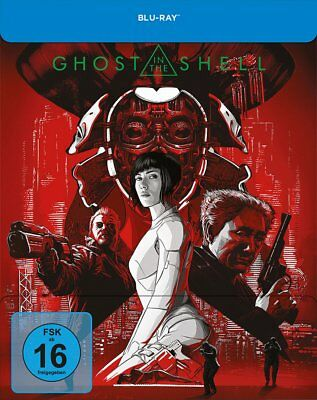 Ghost in the Shell - Limited Steelbook-Edition # BLU-RAY-NEU