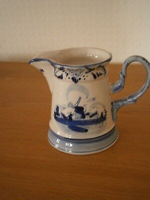 DELFT  **  Pot Lait **   Blue - White **  Vintage - Ancien