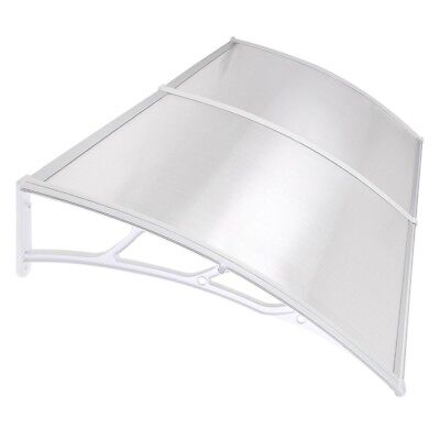 40*80 Sun Shade Canopy Awning For Windows Doors Polycarbonate Clear Hollow Sheet
