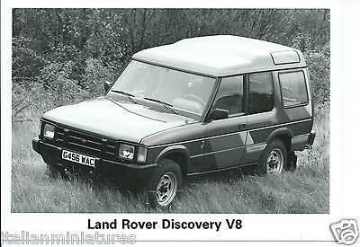 Land Rover Discovery V8 1989 Original Press Photograph Mint Condition