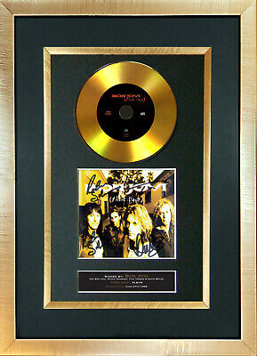 #140 GOLD DISC BON JOVI These Days Signed Autograph Mounted Repro A4