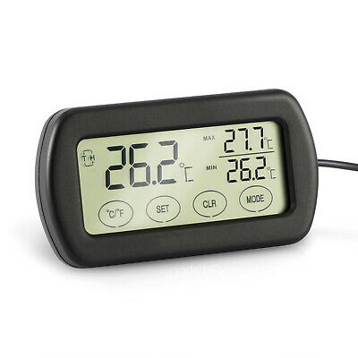 Digital Thermometer Hygrometer Humidity Monitor & Probe for Egg Incubator