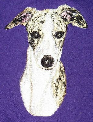 Embroidered Short-Sleeved T-Shirt - Whippet BT3413  Sizes S - XXL