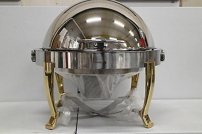 Chafing Dish Food Warmer Heat Fagor cdsop-v Roller Cover Stainless Steel 5L
