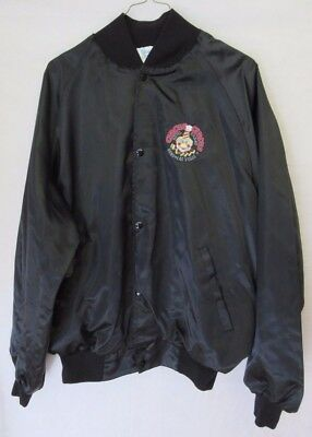 Circus Circus Casino Black Men's Sports Book Jacket Preowned Size XL Long Sleeve